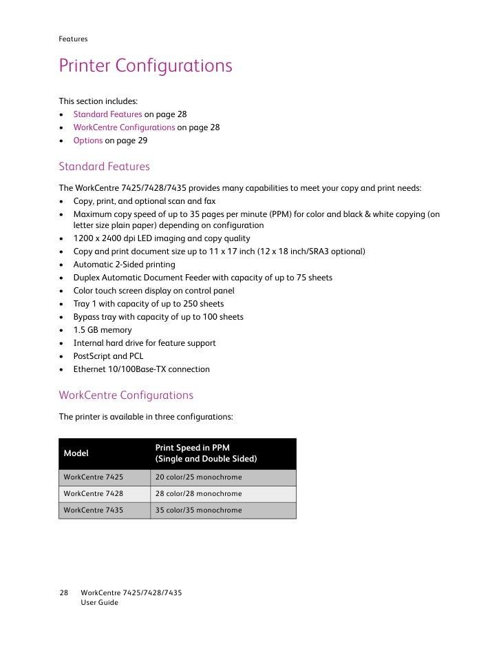 user guide en 7435 rh slideshare net workcentre 7435 user guide Xerox 7556
