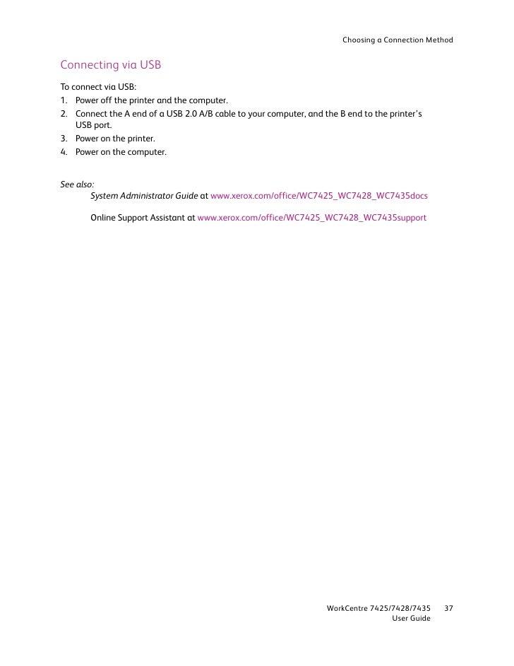 user guide en 7435 rh slideshare net Xerox 7435 Specs Xerox 5755