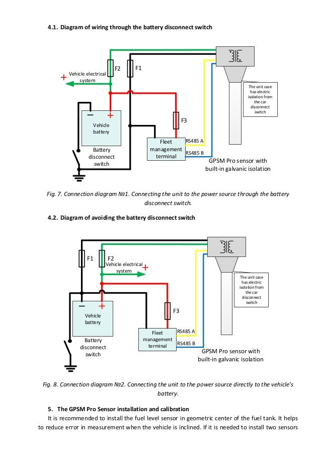 7  4 1  diagram of wiring through the battery disconnect switch