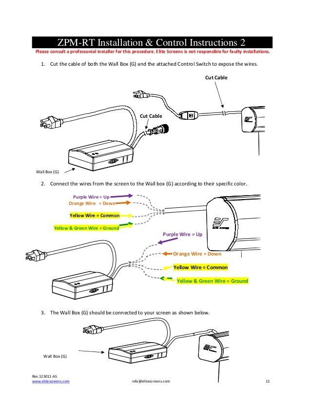 user guide powermax series screens screen 11 12 zpm rt installation