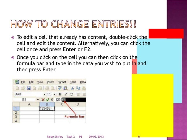 user guide to excel rh slideshare net Excel Map Excel 2013 Quick Reference Guide