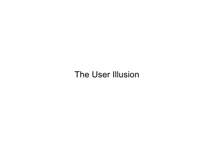 User illusion pdf the