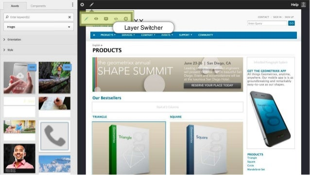 Layer Switcher  © 2014 Adobe Systems Incorporated. All Rights Reserved. Adobe Confidential. 33