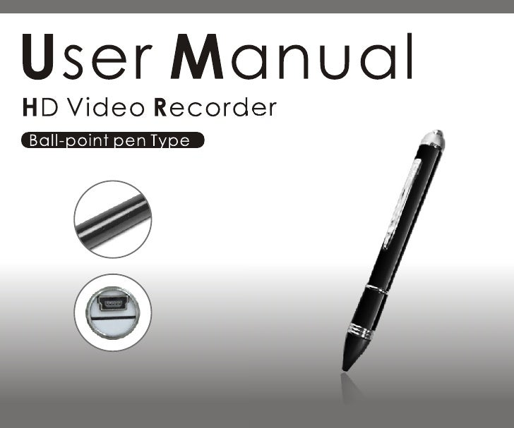 Spy pen camera manual