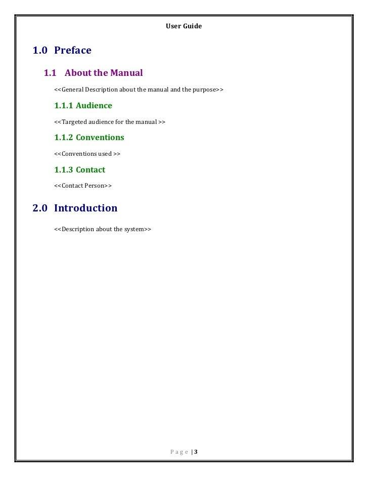 user manual template rh slideshare net Sample of Tablet User Manual user manual sample for library system