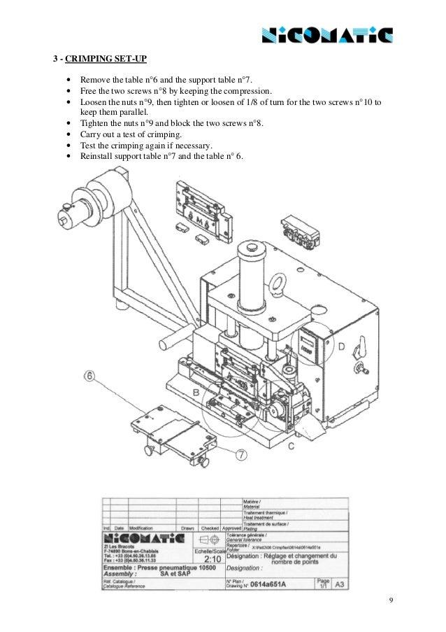 User manual 10500 sa p- gb