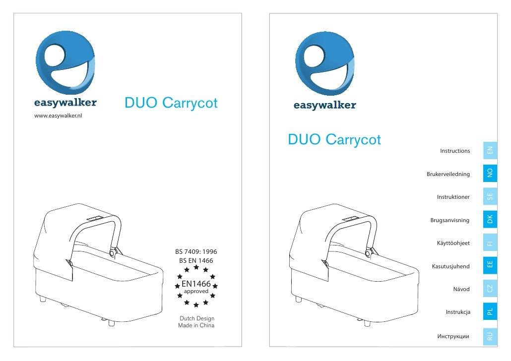 DUO Carrycotwww.easywalker.nl                                          DUO Carrycot                                       ...