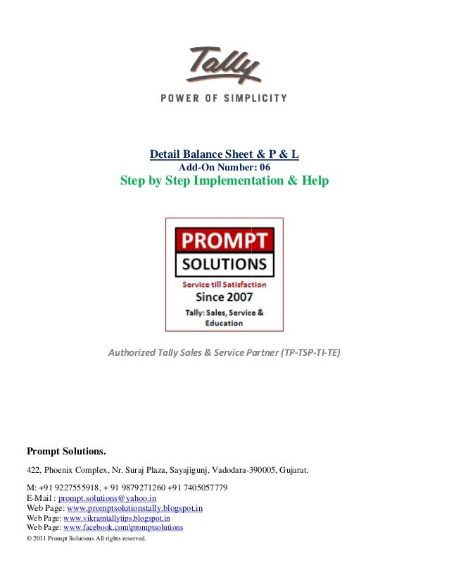expand all level in balance sheet profit loss report english