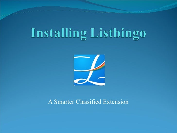 A Smarter Classified Extension
