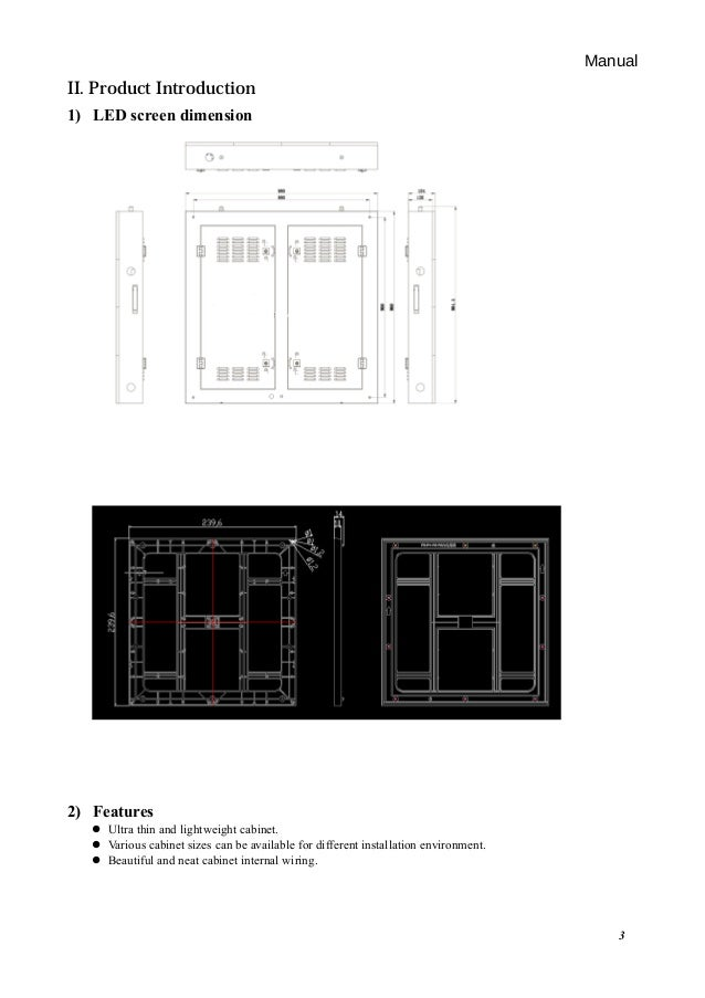 [ZSVE_7041]  User manual for outdoor fixed installation led billboard display   Outdoor Led Display Wiring Diagram      SlideShare