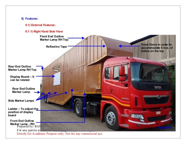 User manual for tata prima 4928 car carrier application on
