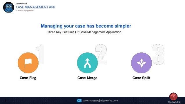 user manual guide case management app on salesforce appexchange rh slideshare net case management manual homeless case management manual for geriatric