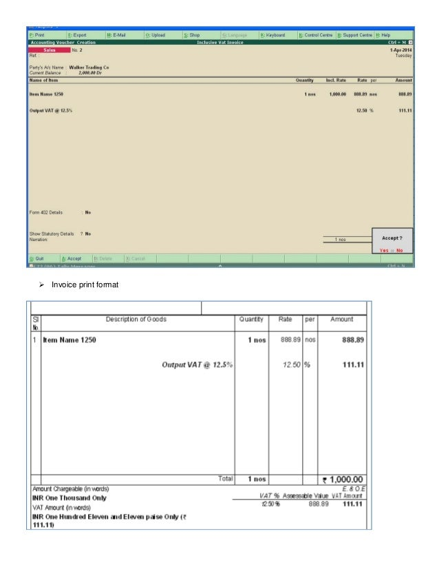 sales bill