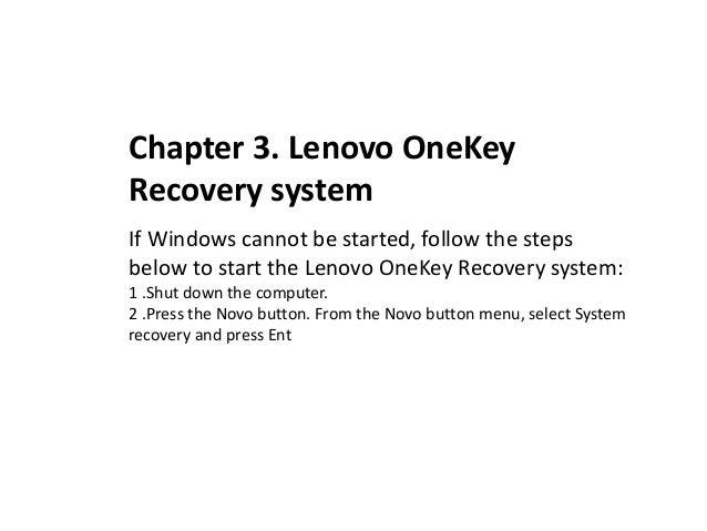 User manual on laptop