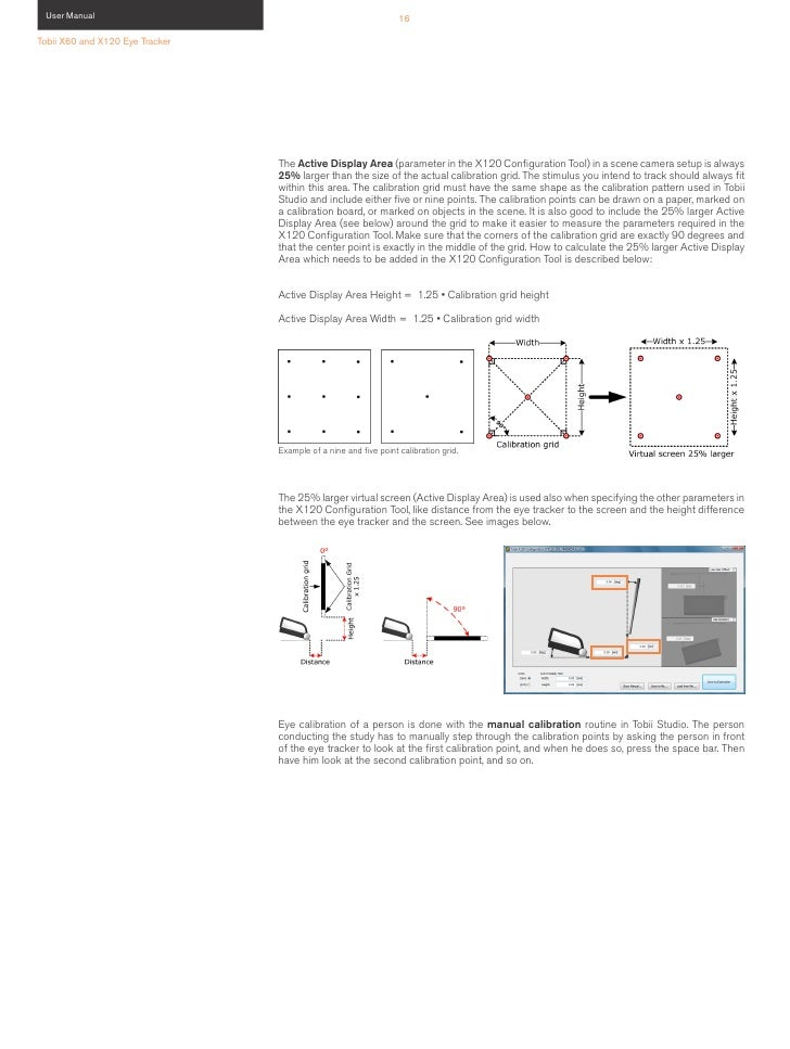 User Manual Tobii X120