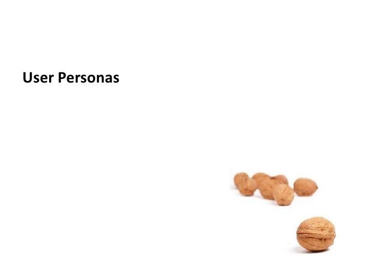 User Personas<br />