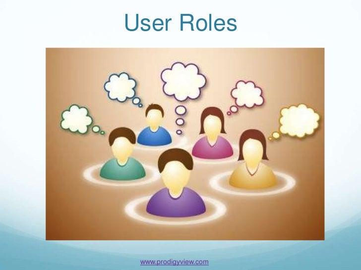 User Roles www.prodigyview.com