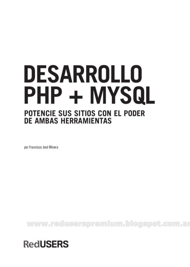 Users - Desarrollo PHP + MySQL Slide 2