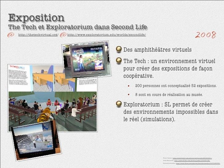 Exposition The Tech et Exploratorium dans Second Life    http://thetechvirtual.org/   http://www.exploratorium.edu/worlds/...