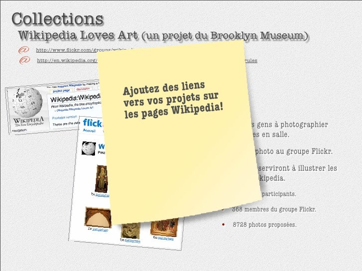 Collections Wikipedia Loves Art (un projet du Brooklyn Museum)    http://www.flickr.com/groups/wikipedia_loves_art/    http...
