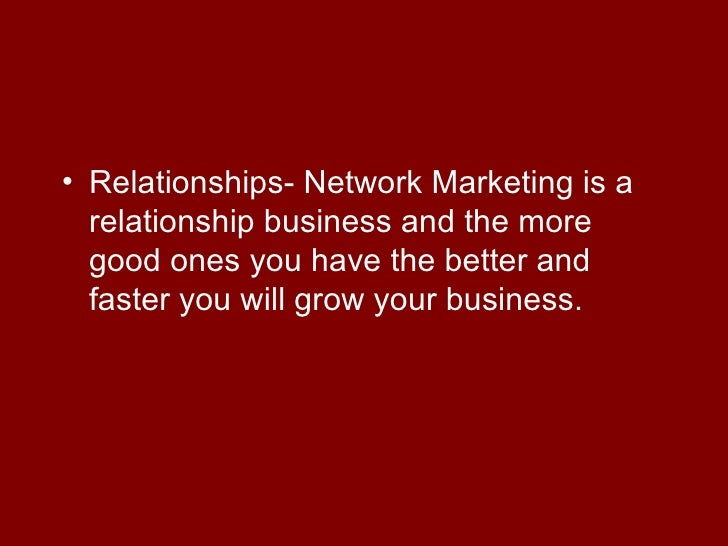 ABC's of Network Marketing Success