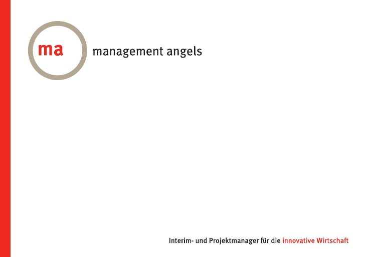 Imagebroschüre // Management Angels GmbH