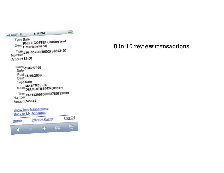 Text banking launched on January 29th 2009 and achieved 17,118 unique users in just 30 days. With the following interactio...
