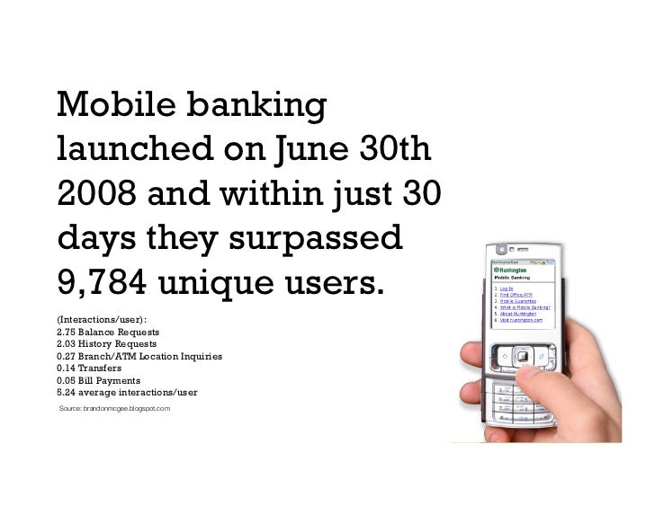 Banking on The Future of Mobile.