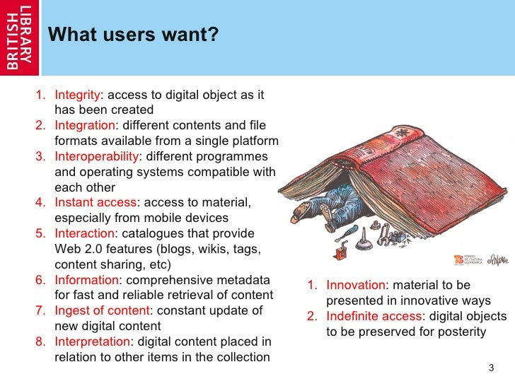 Users digital preservation Slide 3