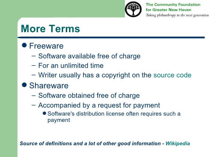 Users guide to freeware shareware and open source software Open source programs