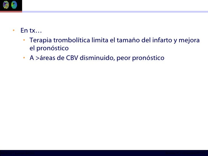 <ul><li>En tx… </li></ul><ul><ul><li>Terapia trombolítica limita el tamaño del infarto y mejora el pronóstico </li></ul></...