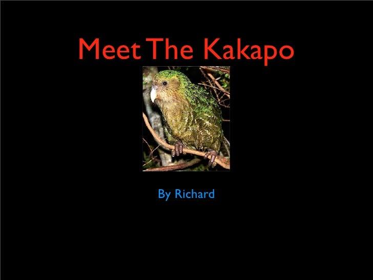 Kakapo slideshow