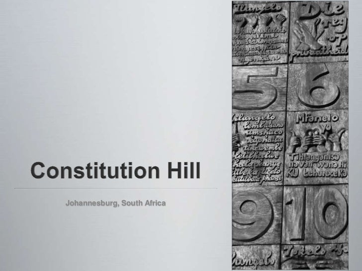 Constitution Hill<br />Johannesburg, South Africa<br />