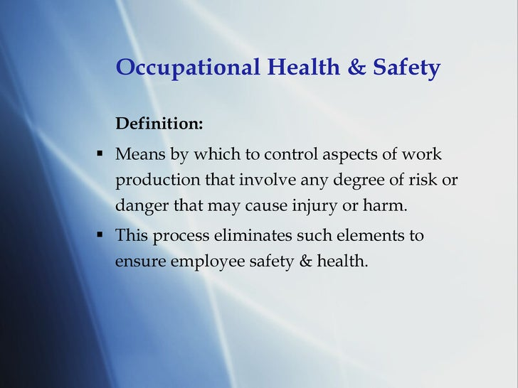 health and safety 6 essay Health & safety advice pack for smaller firms sheet 1: why health and safety is important hazards at work whatever sort of business you are, there is always the possibility of an accident or damage to someone's health.