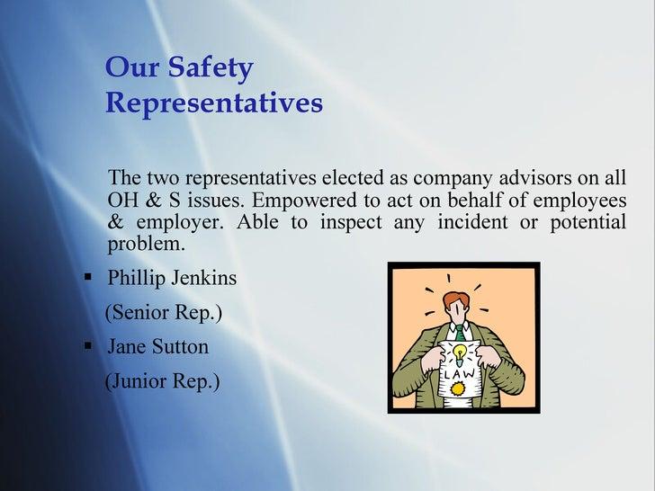 Occupational Health & Safety Presentation