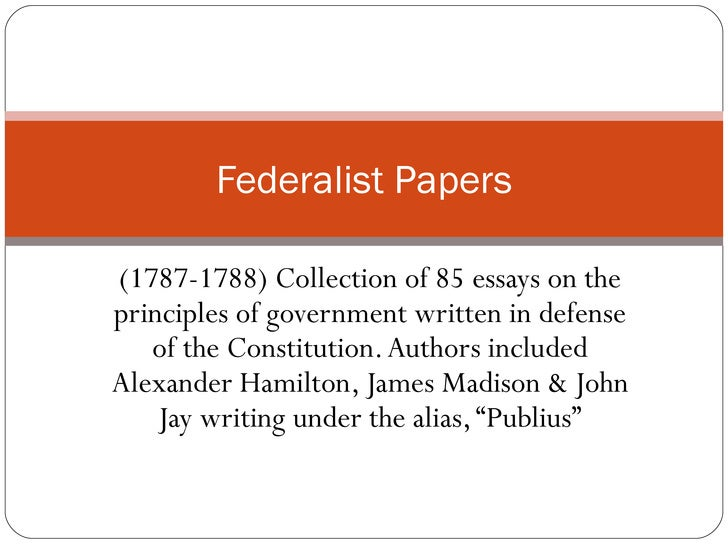 a group of essays that supported the constitution What group of essays supported passage of the us james madison alexander hamilton john jay  publius  the two credited authors are alexander hamilton and james madison the essays collectively are a group of essays that supported the what was the series of essays that were written in support.