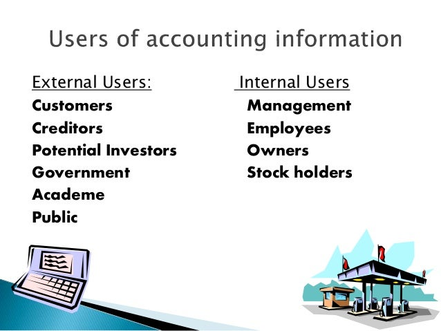 internal and external users of accounting