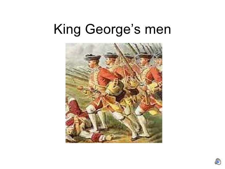 king george single men James and teresa meet king george to pick up a shipment, but it's been stolen and all of george's men are dead.