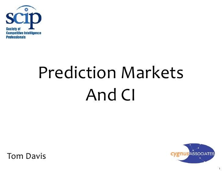 PredictionMarkets              AndCI   TomDavis                              1