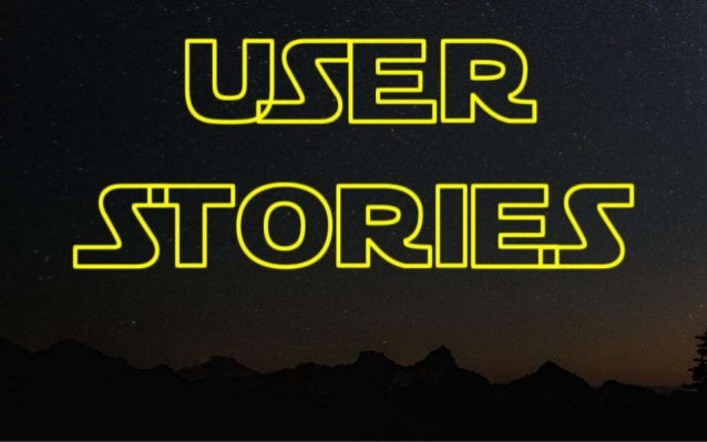 CONTENTS  What a user story is  Why use them  When and how to  Let's give it a go!