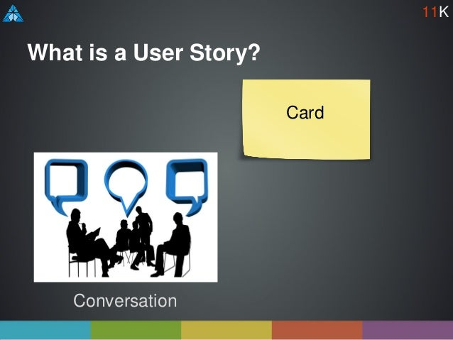 What is a User Story? Conversation Card 11K