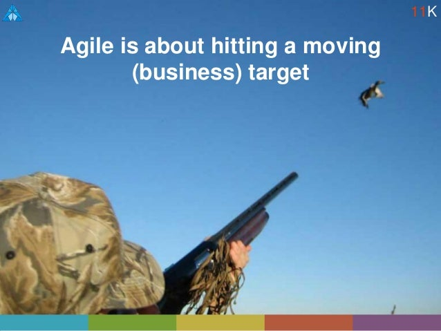 Agile is about hitting a moving (business) target 11K
