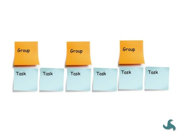 Some  defini<on   • The  post-‐its  you  create  in  Step  2  are  the  User  Tasks   (blue  ...