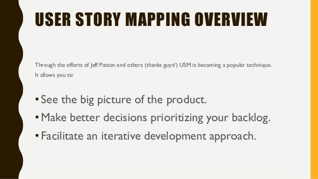 User Story Mapping Workshop (Design Skills 2016) Slide 3