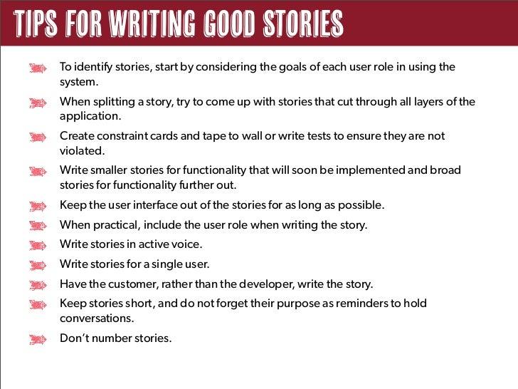 Effective User Stories