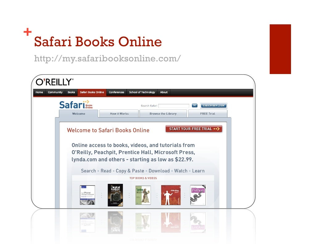 safari on-line books review