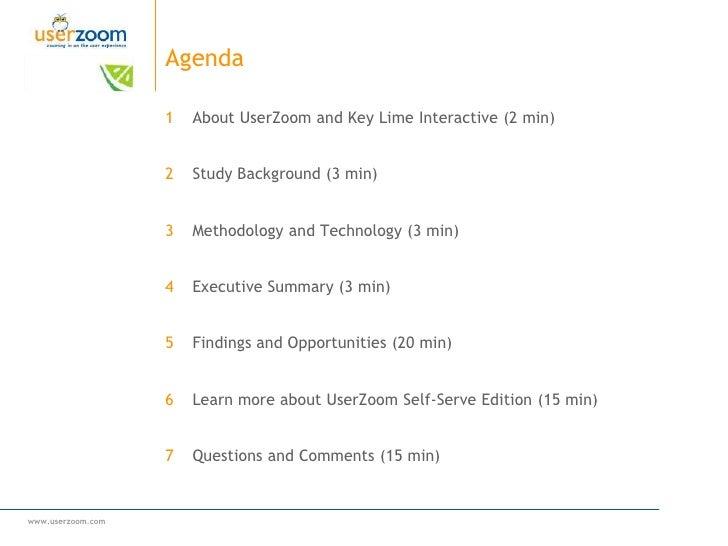 UserZoom & Key Lime Interactive Healthcare Webinar Slide 2