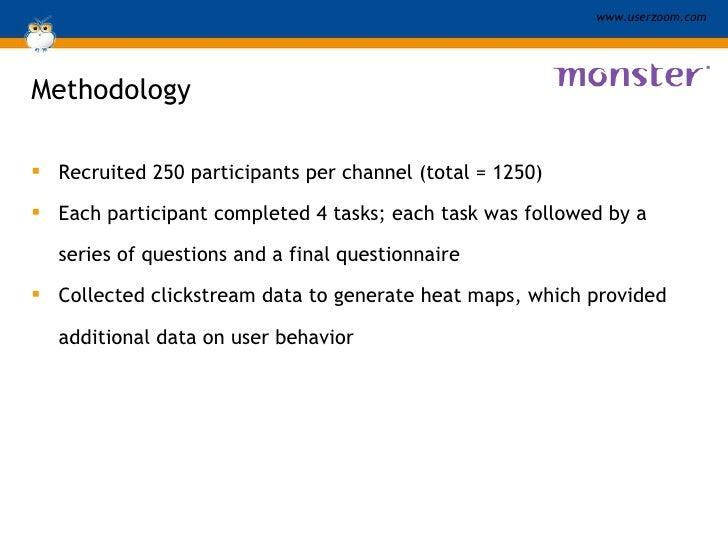 Methodology <ul><li>Recruited 250 participants per channel (total = 1250)  </li></ul><ul><li>Each participant completed 4 ...