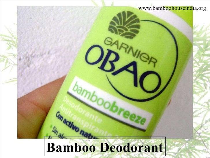100 Bamboo Applications