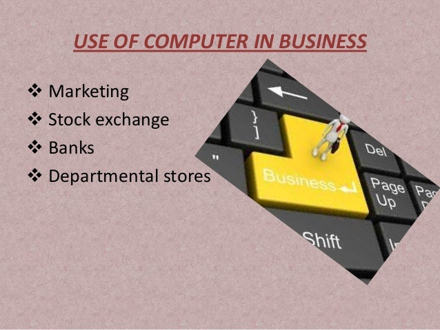 use of computers in banking Computers in the banking sector have enhanced customer service and productivity regarding account management, while streamlining back-office activities the biggest impact is in the area of competition.